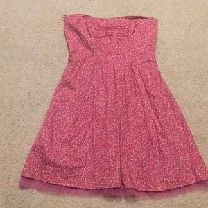 American Eagle strapless dress size 8